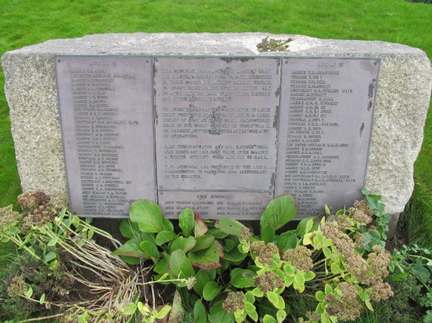 Memorial in Milford Haven cemetery