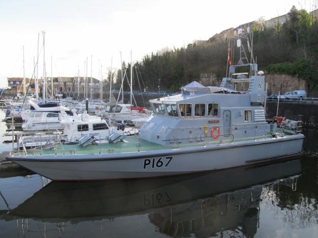 HMS Exploit at Penarth